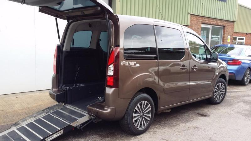 2014 Peugeot Partner Tepee Wheelchair Disabled Accessible Vehicle ...