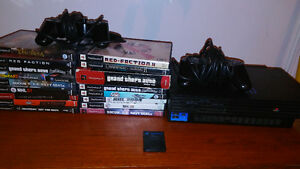 Ps2 perfect condition with 18 games