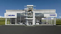 Tucker Acura has moved to a temporary location 969 Topsail Road