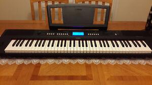 Yamaha Digital  key board with 76 soft touch keys