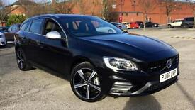 2017 Volvo V60 D3 R-DESIGN LUX NAV Geartronic Automatic Diesel Estate