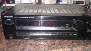 For sale kenwood receiver pair of kenwood  speakers old school