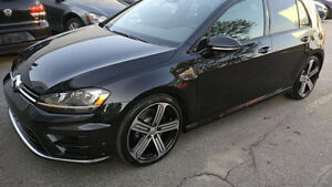2016 VW Golf R 6sp man w/TECH 29499$ BRAND NEW ENGINE