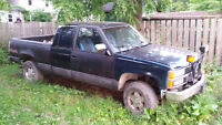 1992 Chevrolet C/K Pickup 1500 Pickup Truck with hydraulic plow!