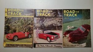 1952 Road & Track Magazine Complete Year