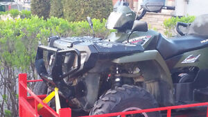 Polaris 500 x2 trade for on and off road bike