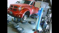 Automobile Service Full Exhaust Work