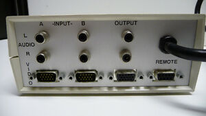 2-Port VGA Switch with Audio