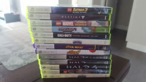 XBox 360 Kinect plus games