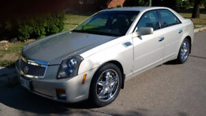 2007 Cadillac CTS Sedan only 71000 kilometers