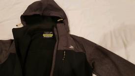 Men's Trespass waterproof jacket (S)