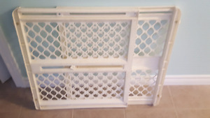 Well used baby gate or dog gate