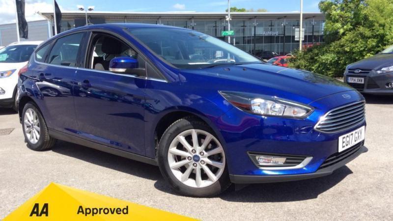 2017 Ford Focus 1 0 Ecoboost 125 Titanium Nav Manual Petrol