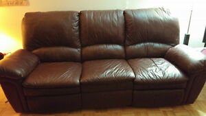 SOFA and LOVE SEAT recliner