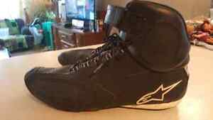 Alpinestars Faster motorcycle shoes size 13