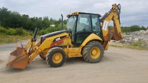 2006 Cat 420E Backhoe