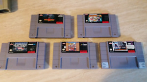 Games snes lot