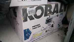 New! Kobalt KT1015 10-in 15 Amp Table Saw with Folding Stand