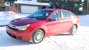 2009 Ford Focus SE - Well Maintained, 89633kms only