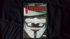 V For Vendetta - Alan Moore (Graphic Novel)
