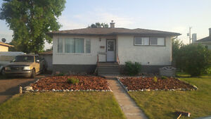 3 bdrm house, large fenced yard, great location