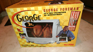 George Jr Rotisserie in box (NOT Baby George)