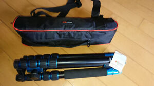 MeFOTO Globetrotter Travel Tripod With Carry Case