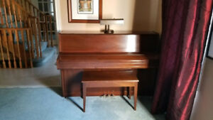 Piano for sale- must be able to pick it up.