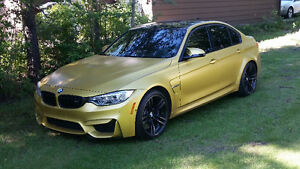 2015 BMW M3 MATTE Yellow. FULL WARRANTY. ALL OPTIONS/PACKAGES