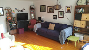 Sunny 3-Bdrm, just north of downtown, May 1, $1450 Inclusive