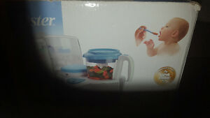 Nutrition Center. Steamer/Food processor/bottle and food wa