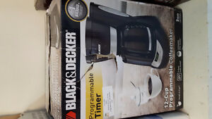 Like new black and decker coffee maker. Cambridge Kitchener Area image 1