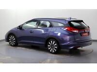 2015 Honda Civic 1.8 i-VTEC SE Plus Petrol blue Manual
