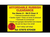 AFFORDABLE RUBBISH REMOVAL / WASTE CLEARANCE GUARANTEED CHEAPEST IN BRISTOL & SURROUNDING AREAS!!