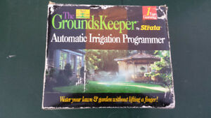 Automatic Watering Grounds keeper timer.