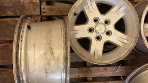 15 in. Jeep rims / roues (cantley Qc)