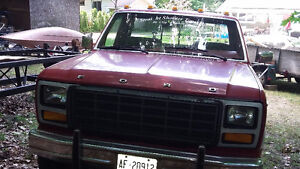 Clean truck for restoration