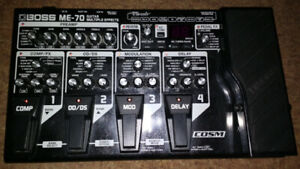 Boss ME-70 Guitar Multi Effects Board-$250