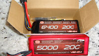 Venom 3S 6400mAh 11.1 & 2S 5000mAh 7.4V Lipo Battery Traxxas or?