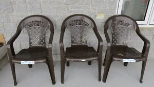 3 BRAND NEW CHAIRS----COMPOSTERS
