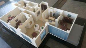 Maison pour play mobile ou autres petits personnages.