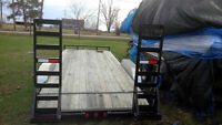 24 ft new cargo/machinery/car trailer