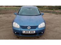 2005 Volkswagen Golf 2.0 FSI GT petrol service history drives well