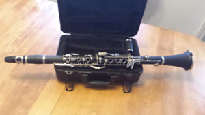 Bb Clarinet with case.