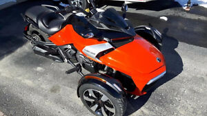 Can-Am Spyder F3-S 2016 SE6 Rouge