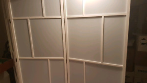2 ikea room dividers -*sold PPU*