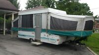 Ready for Camping! 22' Coleman Pop-up Tent Trailer - Sleeps 7