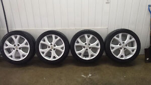 "17"" Lio Fung OEM Mazda Tires and Rims"