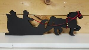 Christmas decoration silhouette