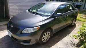 2010 Toyota Carolla CE 89000 kms excell. cond. Possible Trade +$
